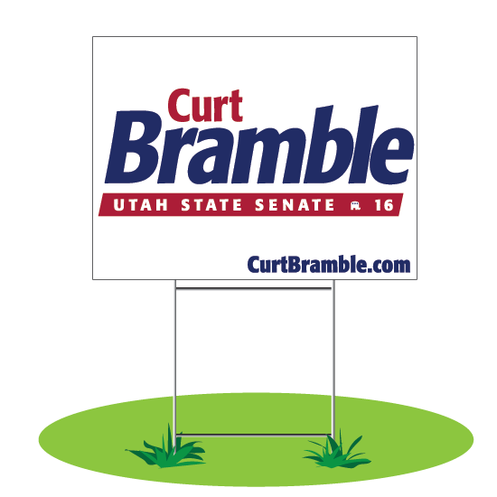 Bramble Lawn Sign